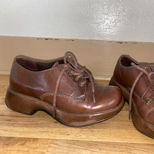 DANSKO Brown Clogs US 6